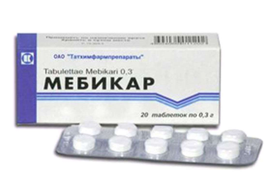 Mebicar 300mg 20 pills buy anxiolytic drugs (tranquilizers) online
