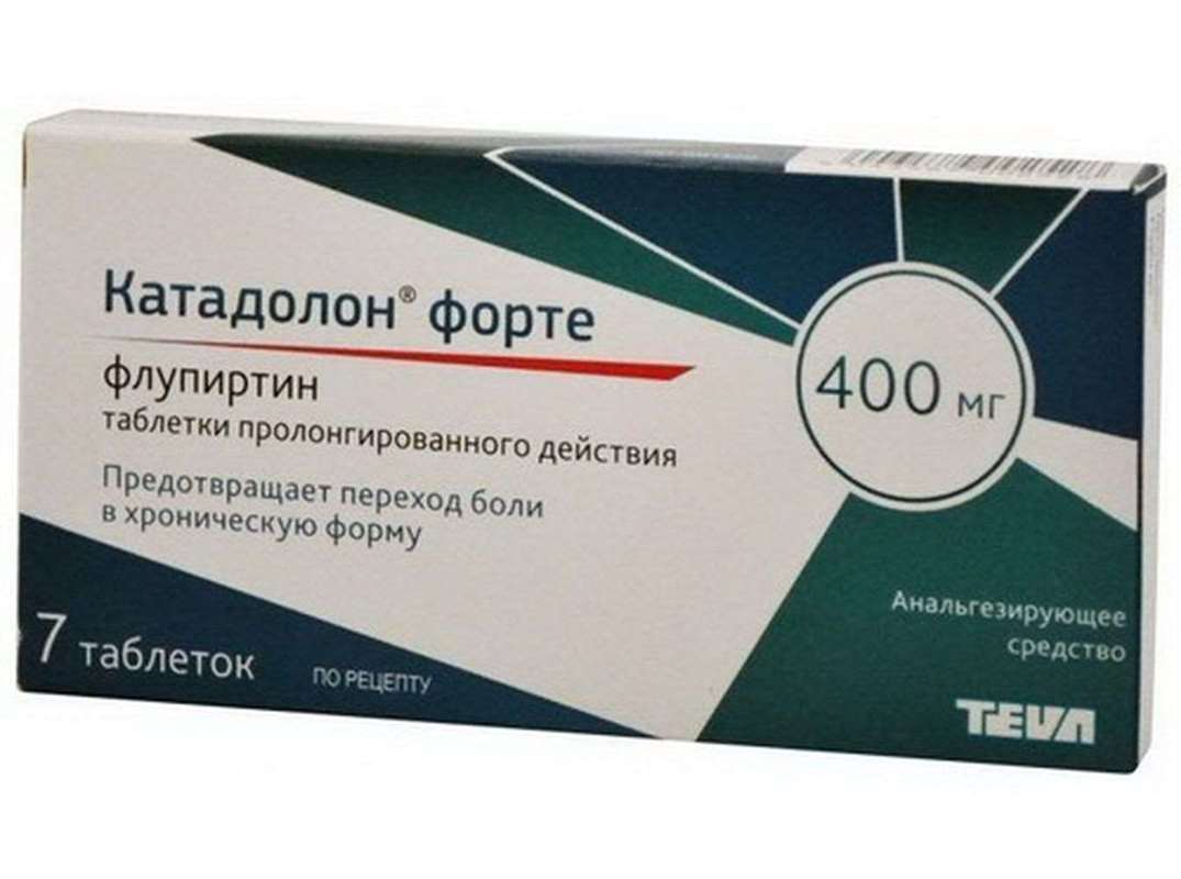 Katadolon Forte 400mg 7 pills buy non-narcotic analgesic agent online