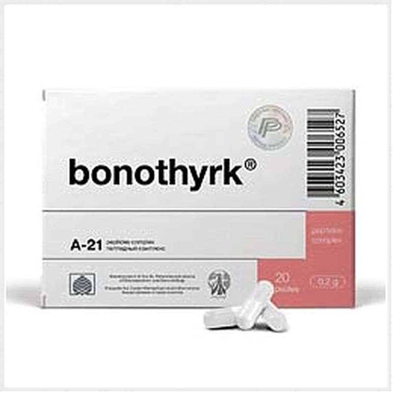 Bonothyrk intensive course 180 capsules buy peptide online