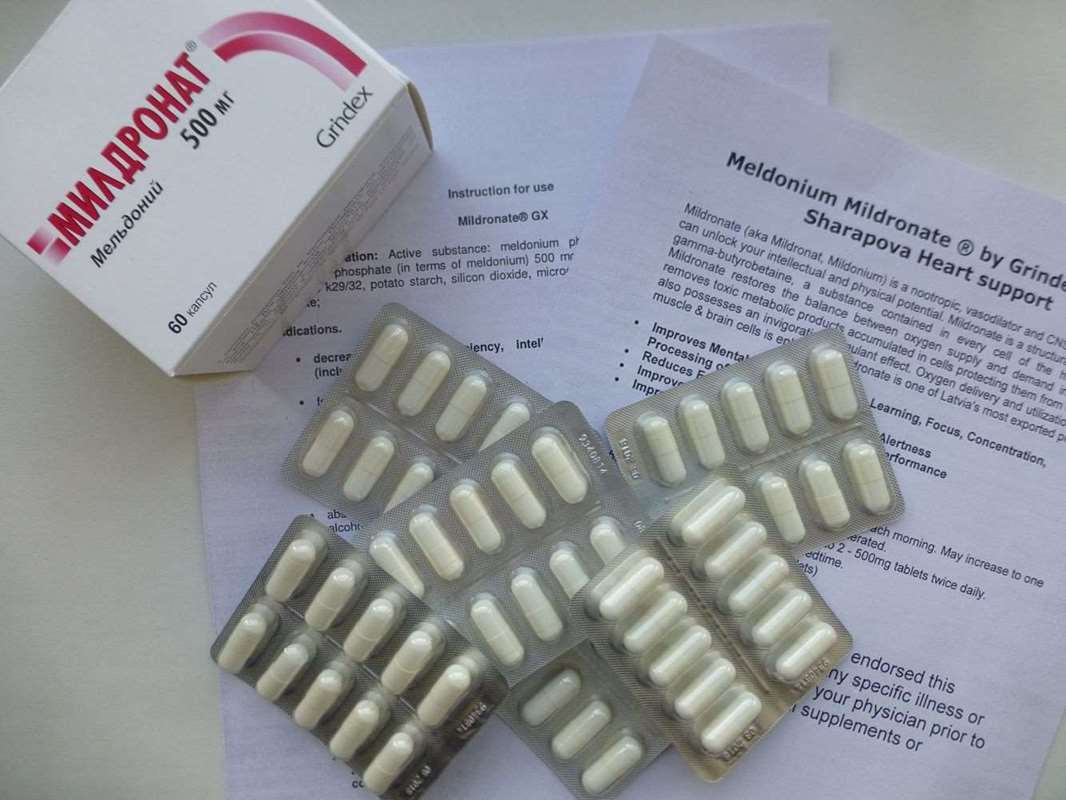 Mildronate Meldonium 500 mg