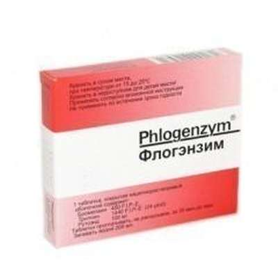 Phlogenzym 40 pills buy anti-inflammatory action online