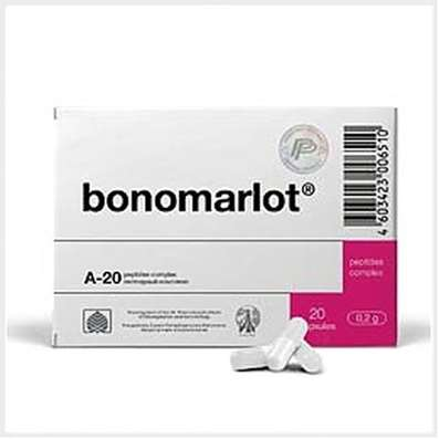 Bonomarlot 20 capsules buy complex peptide fractions online