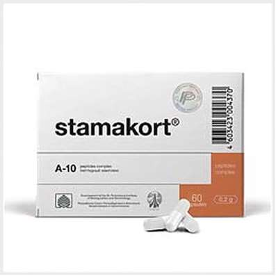 Stamakort intensive 1 month course 180 capsules buy natural stomach peptides