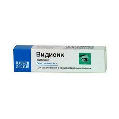 Vidisic eye gel 10gr buy preparation of artificial tears online