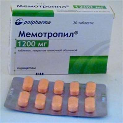 Memotropil 1200mg 20 pills buy stimulates metabolism in the brain increases