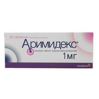 Arimidex 1mg 28 pills buy nonsteroidal aromatase inhibitor