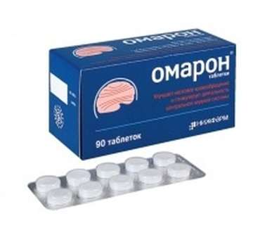 Omaron 90 pills buy neuroprotective and vasodilating effect online