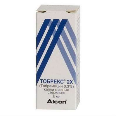 Tobrex 2X eye drops 0.3% 5ml buy Tobramycin online