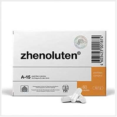 Zhenoluten 60 capsules peptide bioregulator, natural product for the treatment of ovarian dysfunction