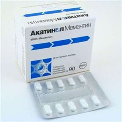 Akatinol Memantine 10mg 90 pills buy drug improving cerebral metabolism
